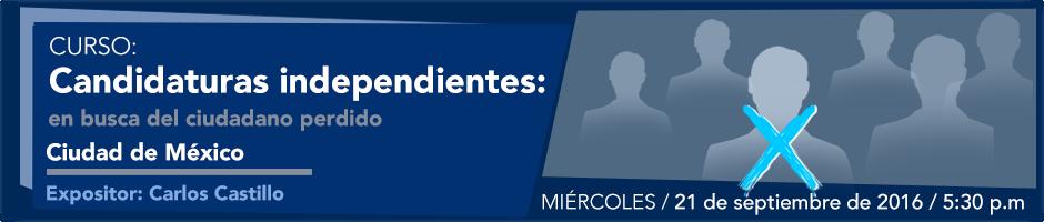 Candidaturas independientes